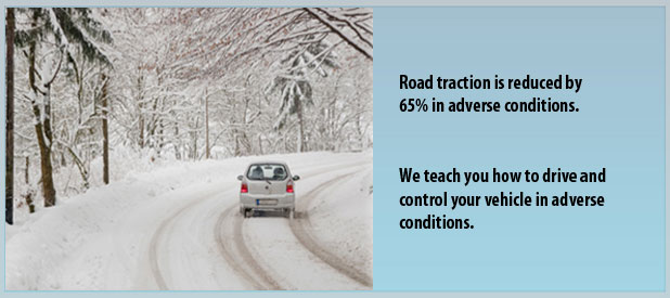 Road traction conditions